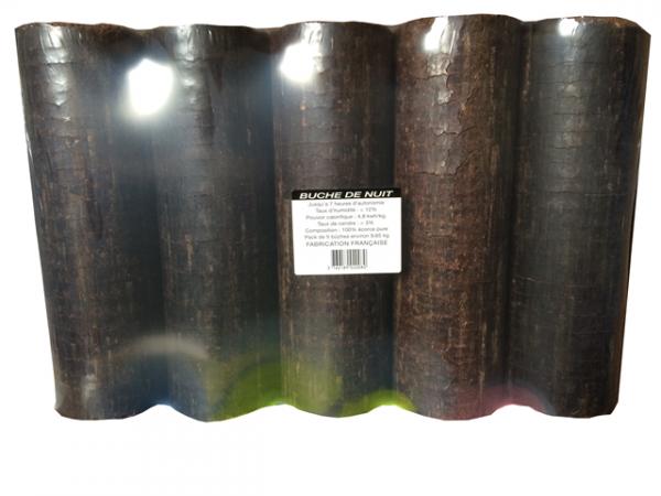 Buche de bois de nuit ENERGIES SUD OUEST